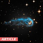Hubble Captures Cosmic Caterpillar